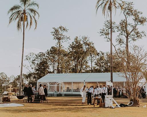 Tamborine wedding reception venue alternate drop menu